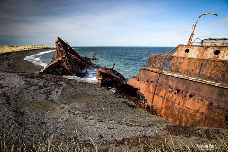 Relitto di San Gregorio, Patagonia Australe, Cile